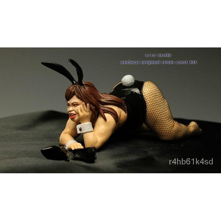 Resin Figure Kit 1/12 Fat Rabbit Girl Garage Resin Kit#¥%¥# 13Nf