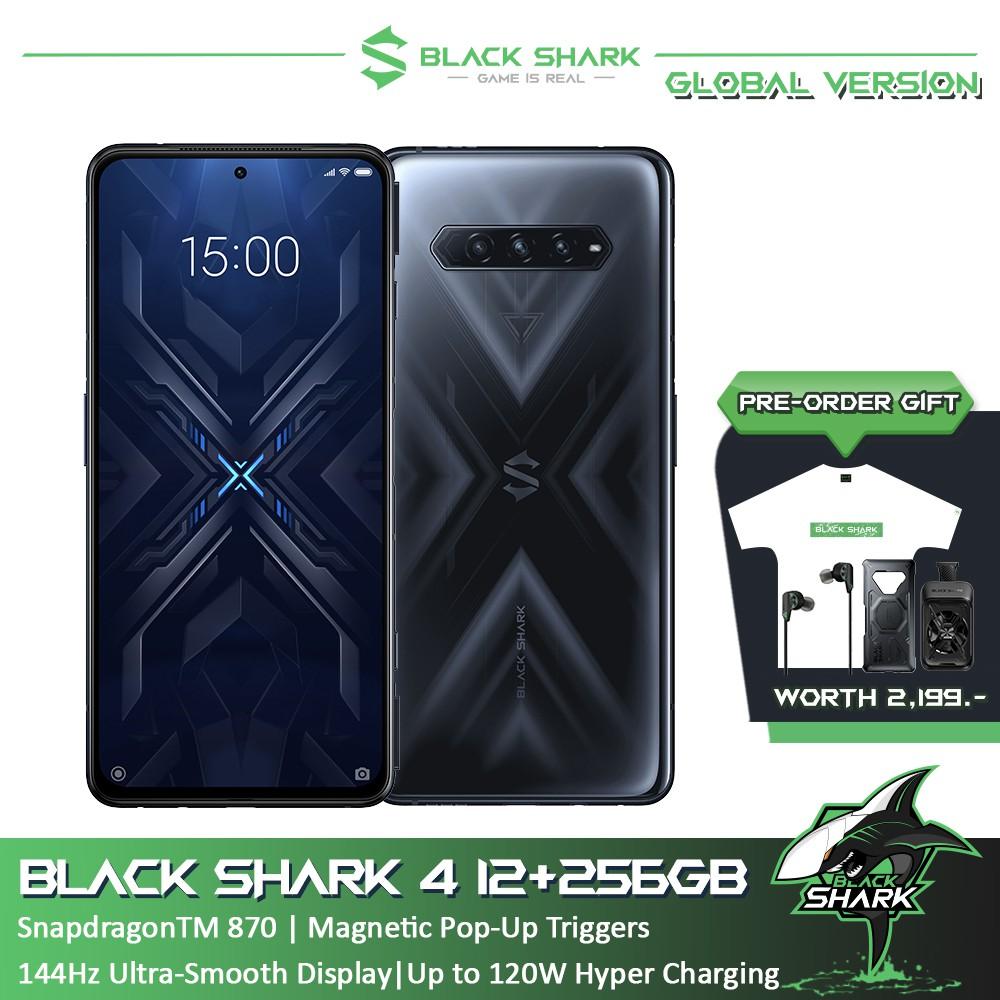 Black Shark 4 12+256GB Global Version Gaming Smartphone โทรศัพท์เกมมิ่งสมาร์ทโฟน เเบล็คชาร์ค4 12+256GB รับประกันศูนย์ไทย