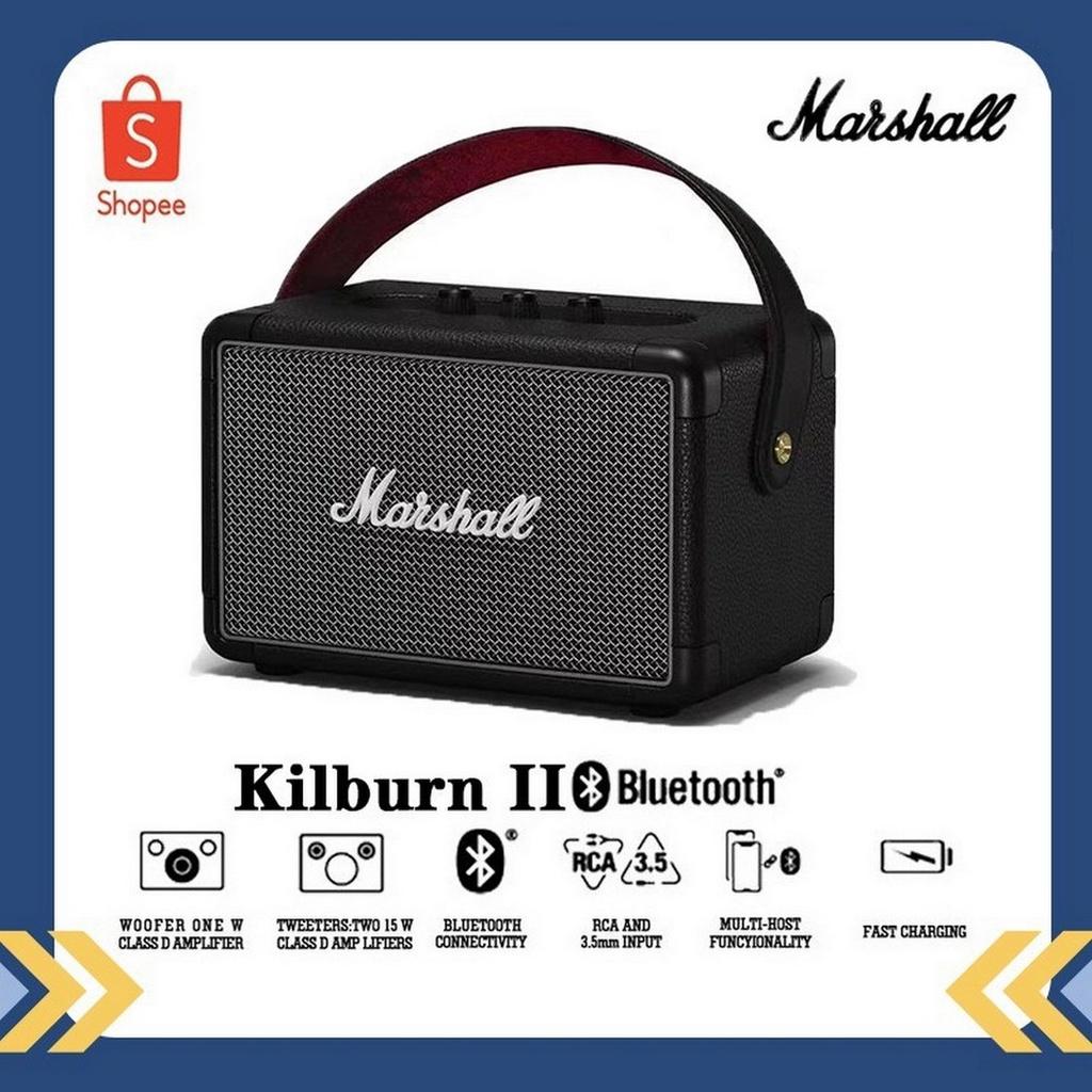 Marshall Kilburn II ลำโพงบลูทูธ - Marshall -Black (รับประกัน 1 ปี) 11hv