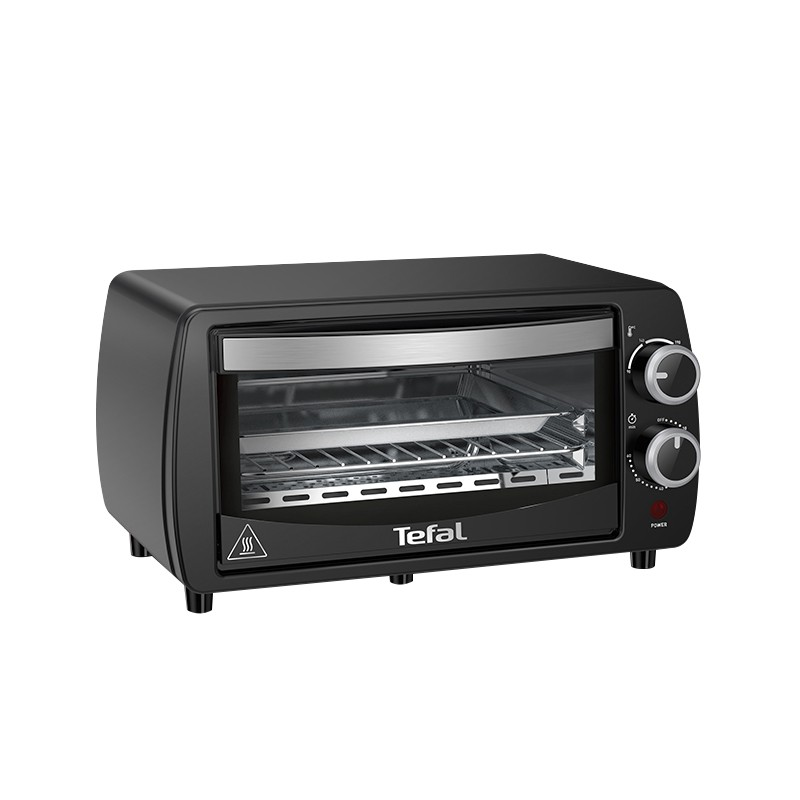 Tefal OF3108 ILLICO Electric Toaster Oven (9.0L) Quartz Heating 230℃ 60 Min Timer 800W Black