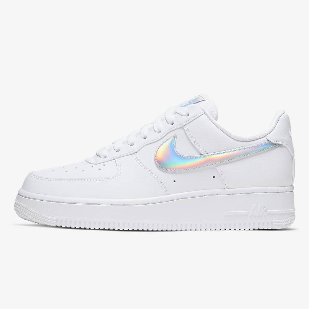 "🤍 Nike Air Force 1 '07 Essential ""White Iridescent"" มือ1 พร้อมกล่อง แท้100% ‼️ CJ1646-100"