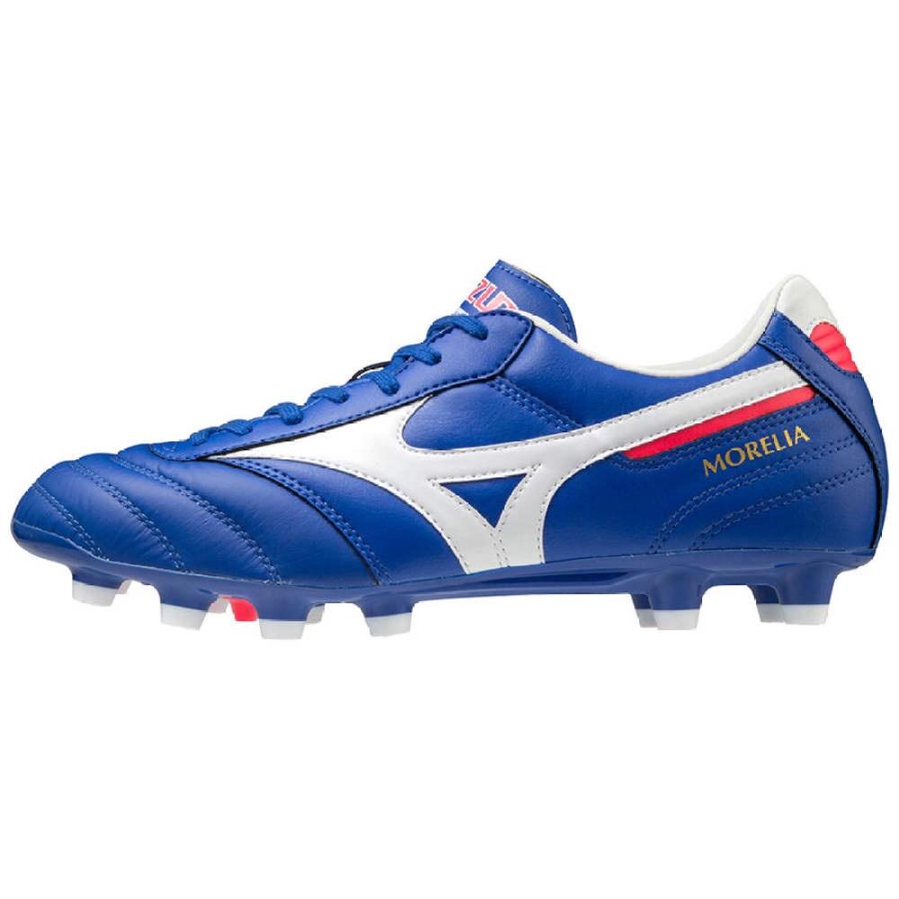 การส่งเสริมโปรโมชั่นรองเท้าฟุตบอลหนังจิงโจ้ Mizuno Morelia II Pro