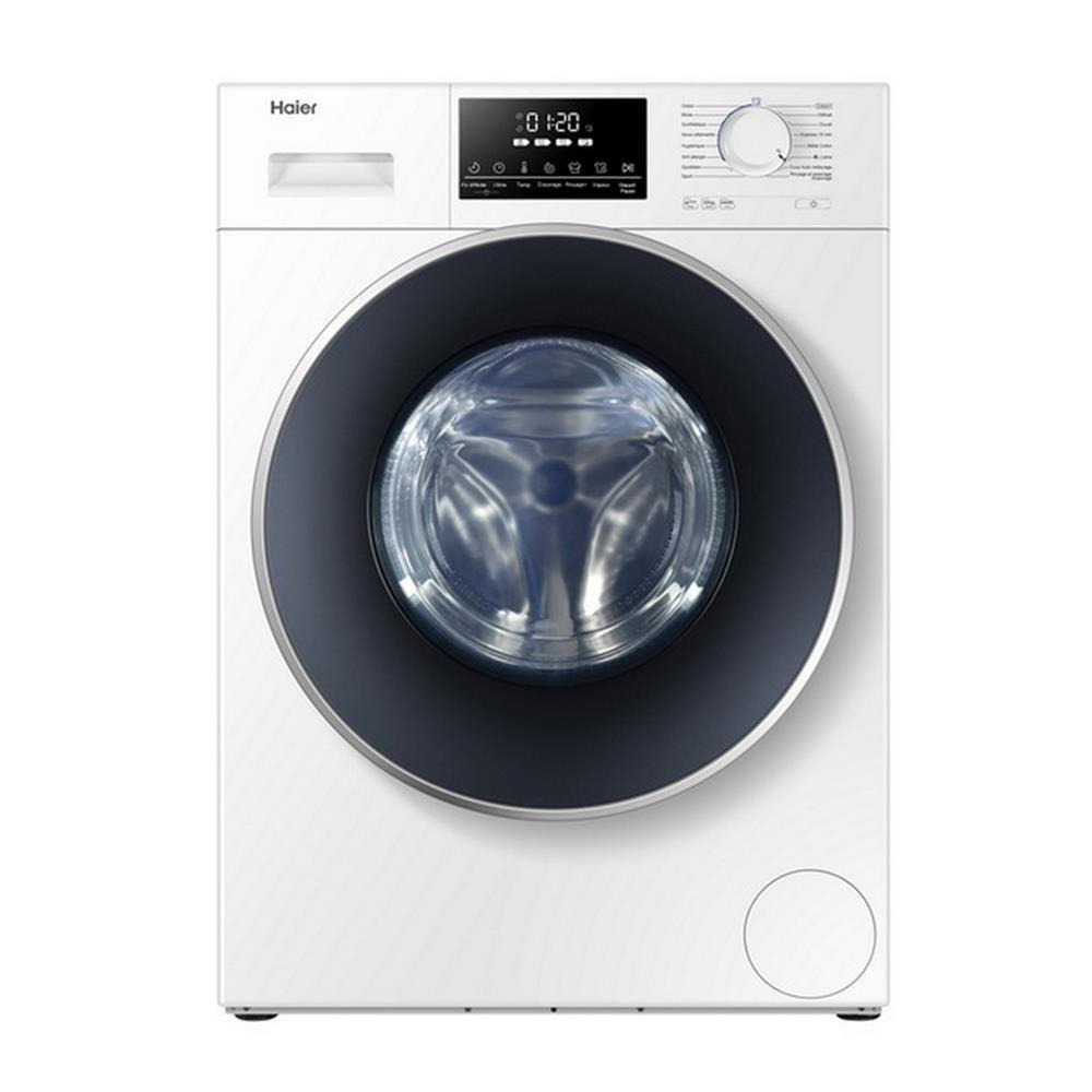[ลด30%วันเดียว!!!] FRONT LOAD WASHING MACHINE HAIER HW100-BP14826 10KG INVERTER เครื่องซักผ้า
