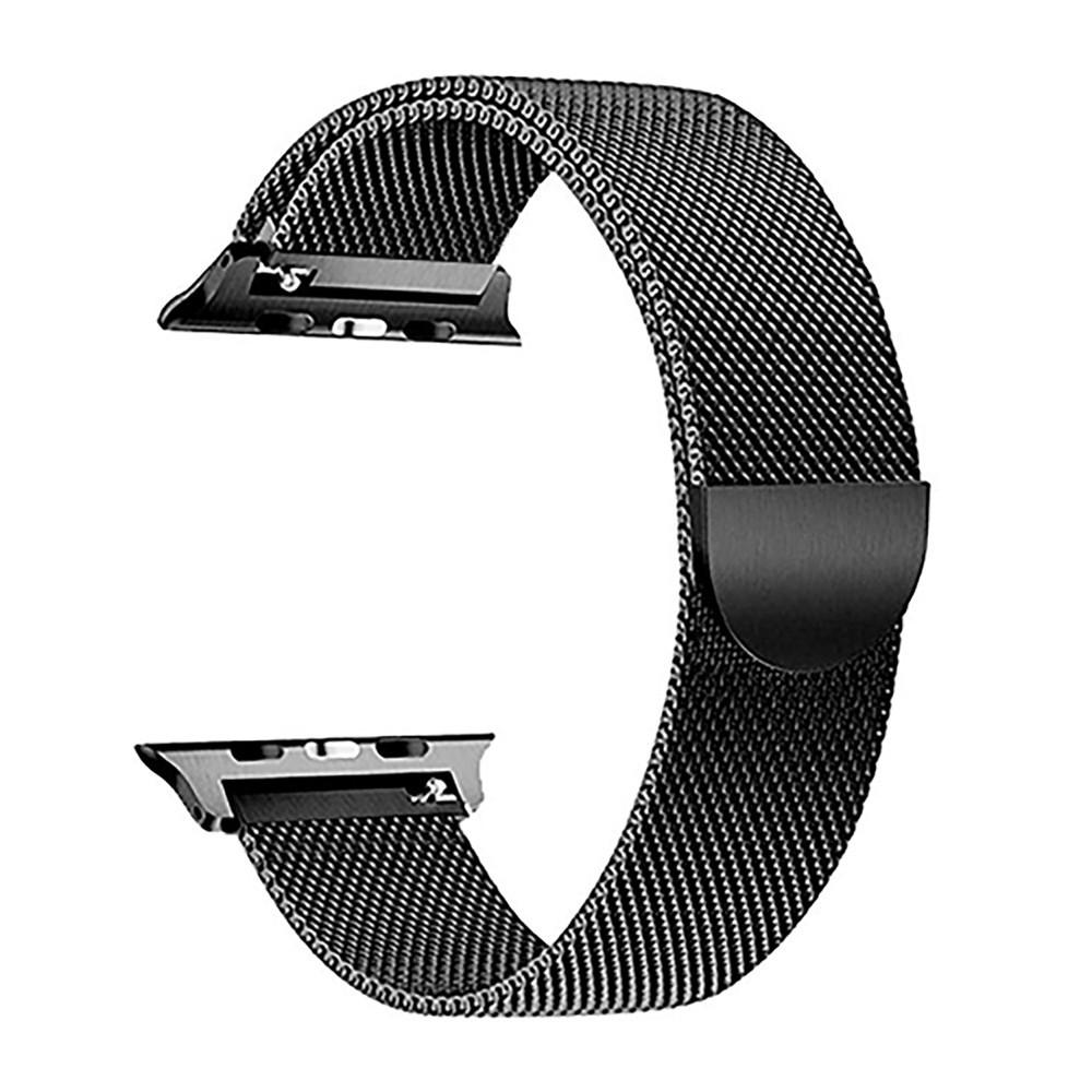 【Apple Watch Strap】เหมาะสำหรับสาย apple watch6 สาย Milanese iwatch series 5/4/3 รุ่น watch พร้อม SE สแตนเลสสตีลกีฬา 4