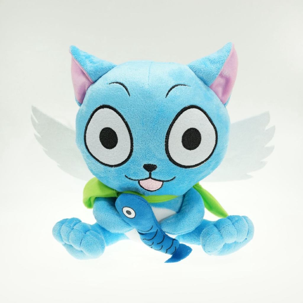 Image # 0 of Review ตุ๊กตาของเล่น Anime Fairy Tail Happy Doll ขนาด 25 ซม.