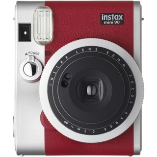 FUJIFILM INSTAX Mini 90 Neo Classic Instant Camera -[Red]