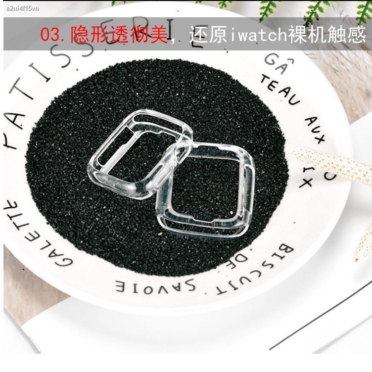 【hot】◙♣◆Boutique iwatch watch case 40mm ซิลิโคนใสนาฬิกาป้องกัน 44mm เหมาะสำหรับ apple soft