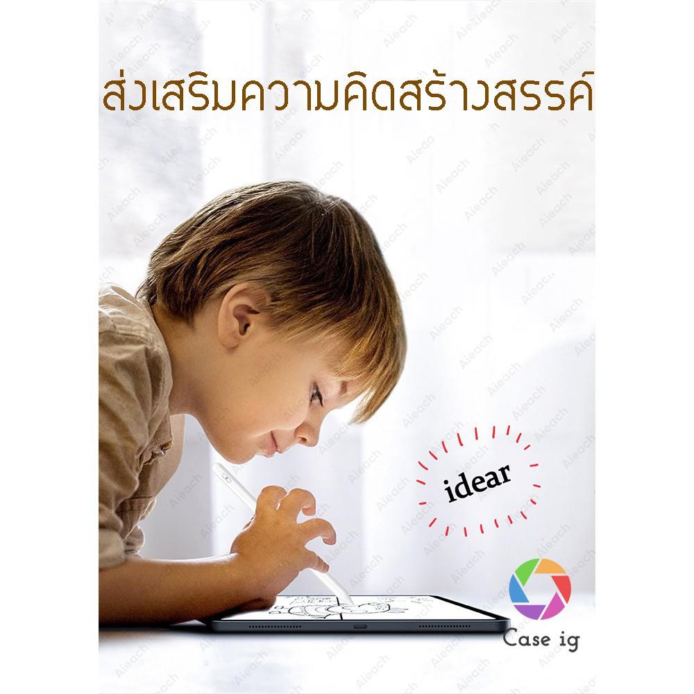 ♘۩[ปากกา ipad] ปากกาไอแพด วางมือได้ Apple Pencil stylus ipad gen7,8 2019 applepencil 10.2 9.7 2018 Air 3 Pro 11 2020 12
