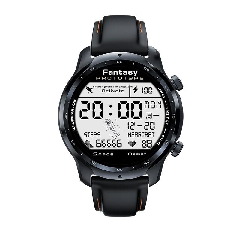 ❈[ผลิตภัณฑ์เรือธงใหม่ / อายุการใช้งานแบตเตอรี่ 45 วัน Qualcomm 4100 ชิป] 12 นาฬิกาสมาร์ทโฟน TicWatch Pro3 4G แบบปลอดดอก