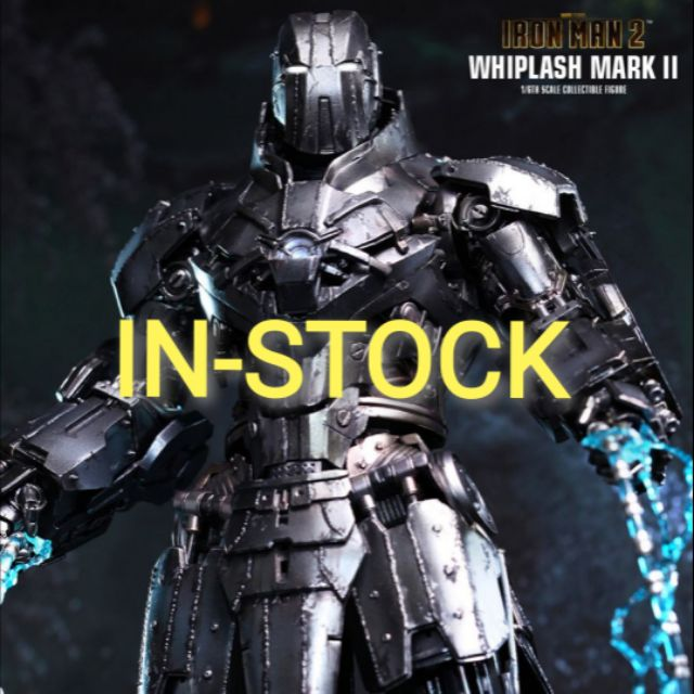 HOT TOYS - WHIPLASH MARK II [ DIE CAST ] : IRON MAN 2