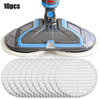 10PCS Microfiber Cleaning Cloths For Bissell Spinwave 20522 2240N 2039A Mop Pads