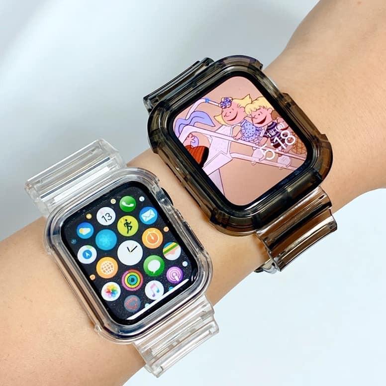 สายApplewatchใสใส สายนาฬิกา