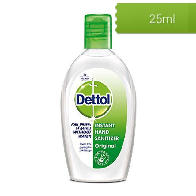 (พร้อมส่ง) Dettol Refreshing Aloe Vera Hand Wash Gel เดทตอล รีเฟรช เจลล้างมืออนามัย สูตรอโรเวล่า ขนาด 25 มล.(1ขวด)