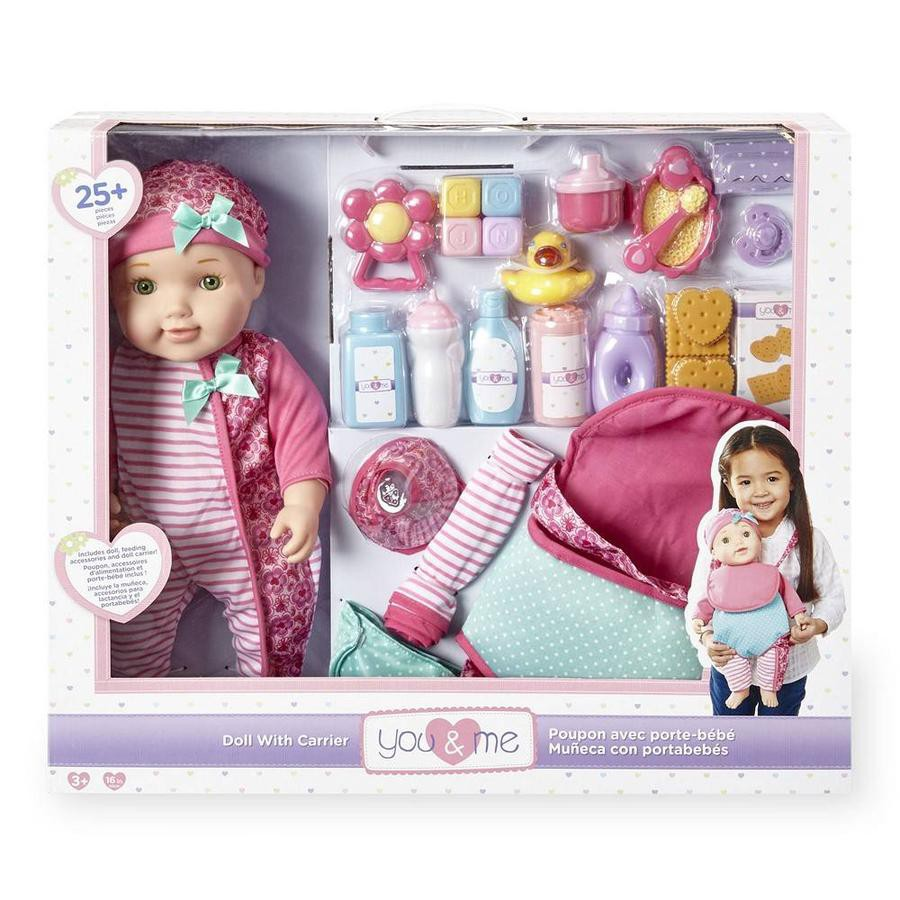ToysRus You & Me 16 Inch Baby Doll With Carrier Playset (896893)