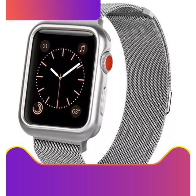 ♥♥♥ 📌 พร้อมส่ง !!⌚️ สาย+เคส นาฬิกา Apple Watch Band Series 1/2/3/4/5 พร้อม เคส soft tpu !!