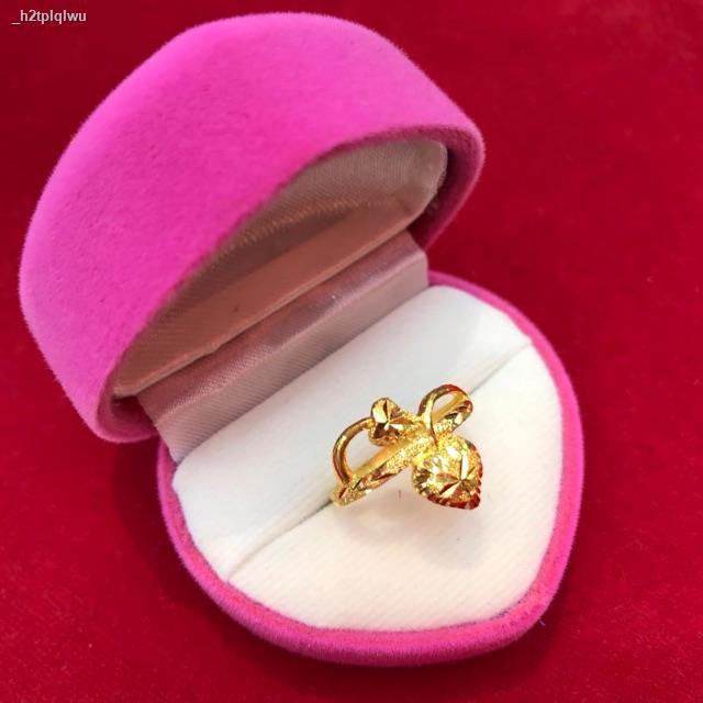 ราคาต่ำสุด▽♦[ถูกที่สุด] แหวนทองแท้ 96.5% น้ำหนัก ครึ่งสลึง มีทุกไซส์ ทักแชทได้นะครับ