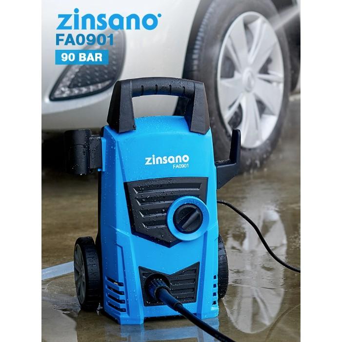 ZINSANO เครื่องฉีดน้ำแรงดันสูง 90 บาร์ รุ่น FA0901 High Pressure Washer 220V 90Bar