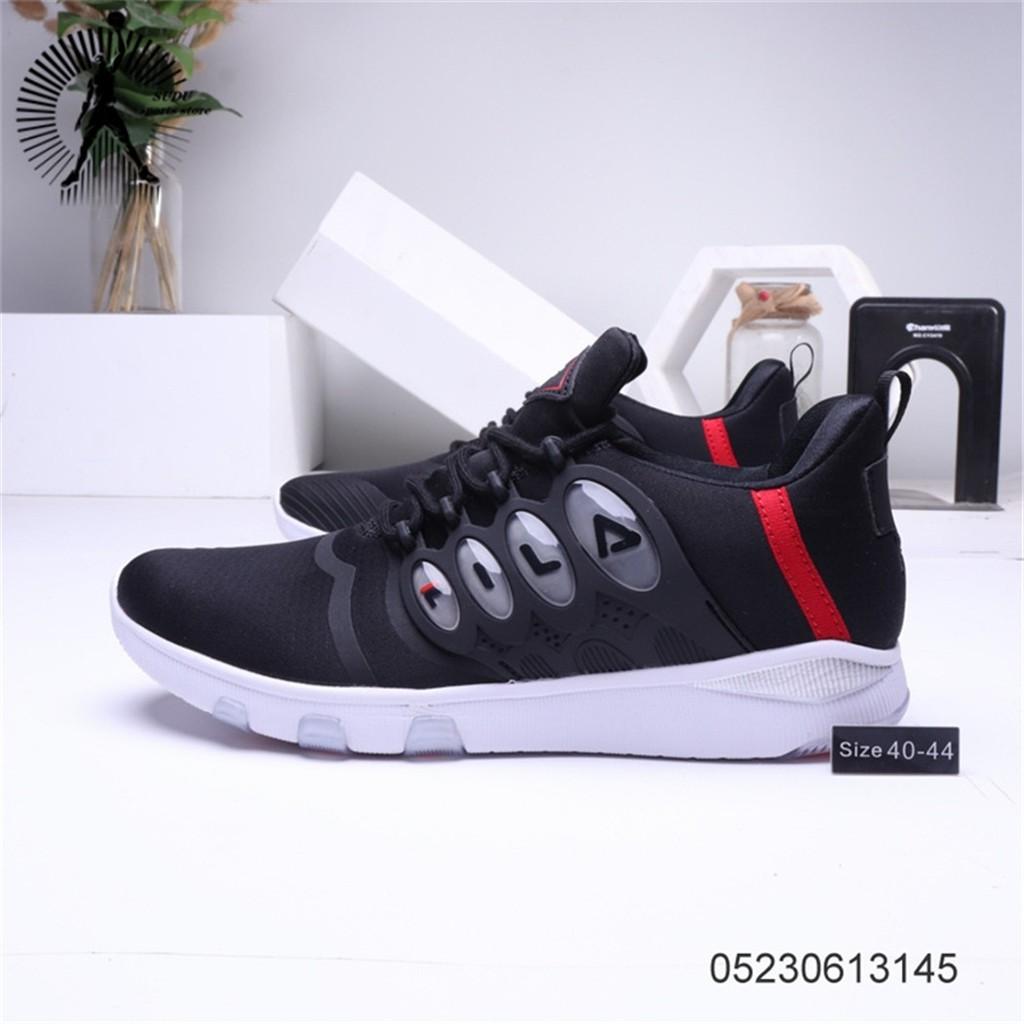 ของแท้จาก FILA รองเท้าผู้หญิงแฟชั่นรองเท้าผ้าใบรองเท้าวิ่งรองเท้าผู้ชาย174