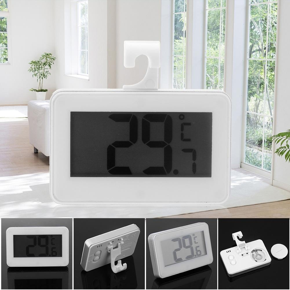 NEW Digital Thermometer Fridge Waterproof Precise Refrigerator Thermometer Fridge Large Screen Convenient