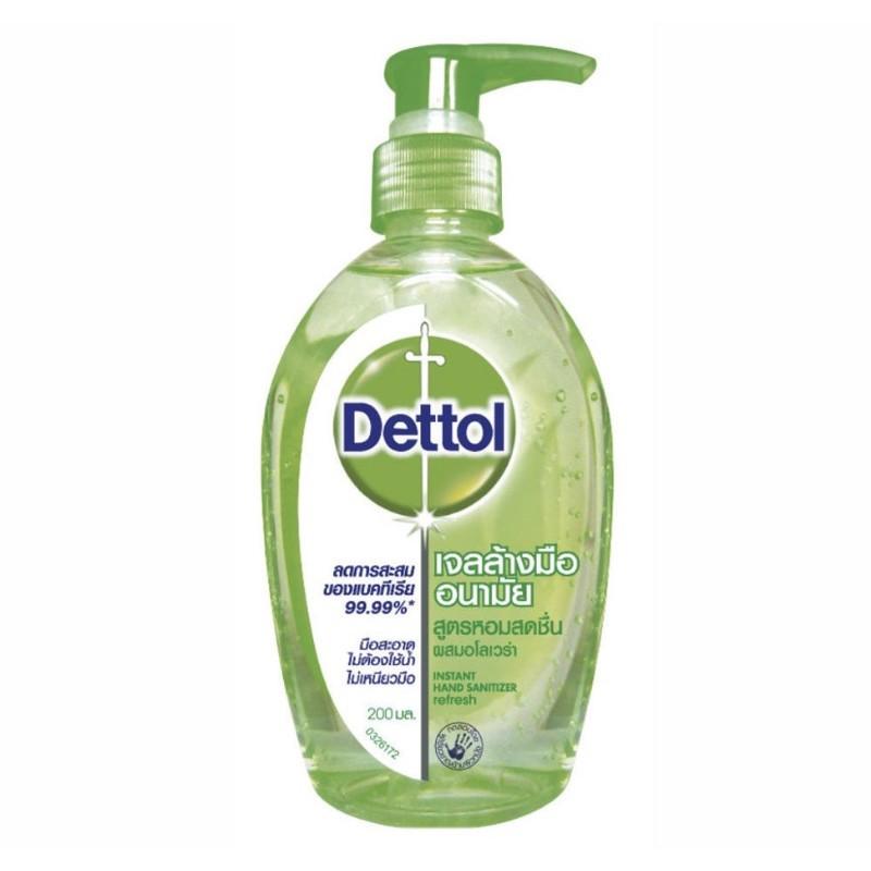 Dettol เจลล้างมืออนามัย 200 มล