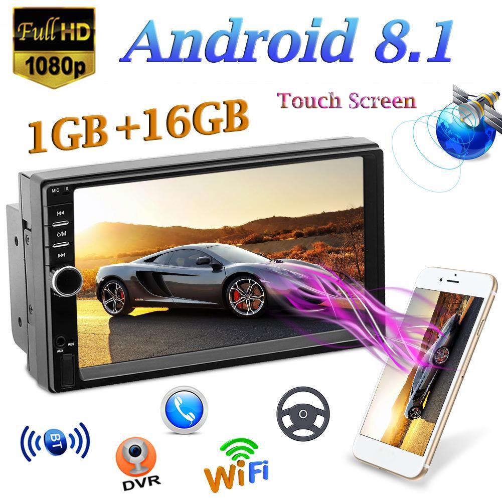 ✿AL✿SWM 7018 7 inch Android 8 1 Car Stereo MP5 Player GPS Navi FM Radio  WiFi BT Car Accessories