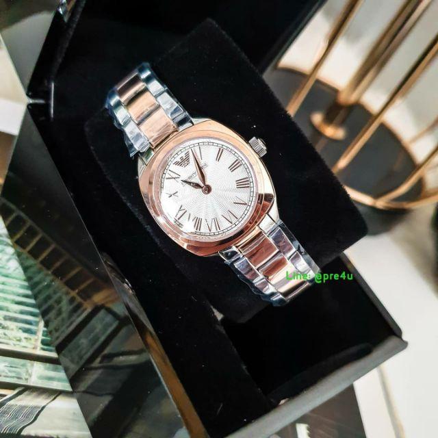 Emporio Armani Women's Dress Two Tone Watch