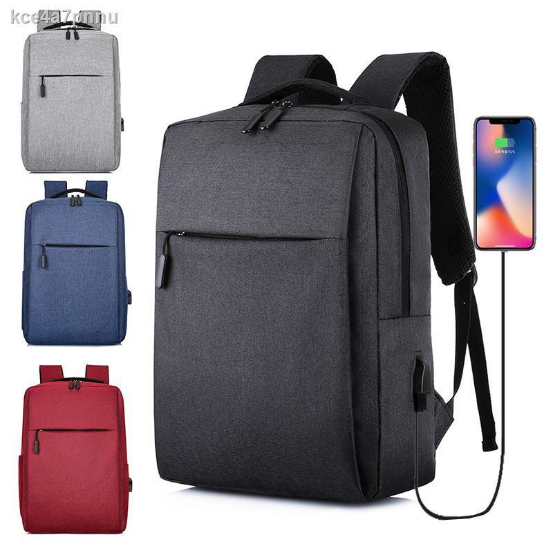 ﹉♗Xiaomi Huawei Lenovo กระเป๋าเป้สะพายหลังคอมพิวเตอร์ 15.6 นิ้ว กระเป๋าแล็ปท็อป 14 นิ้ว กระเป๋าสะพายหลังกระเป๋าเดินทาง l