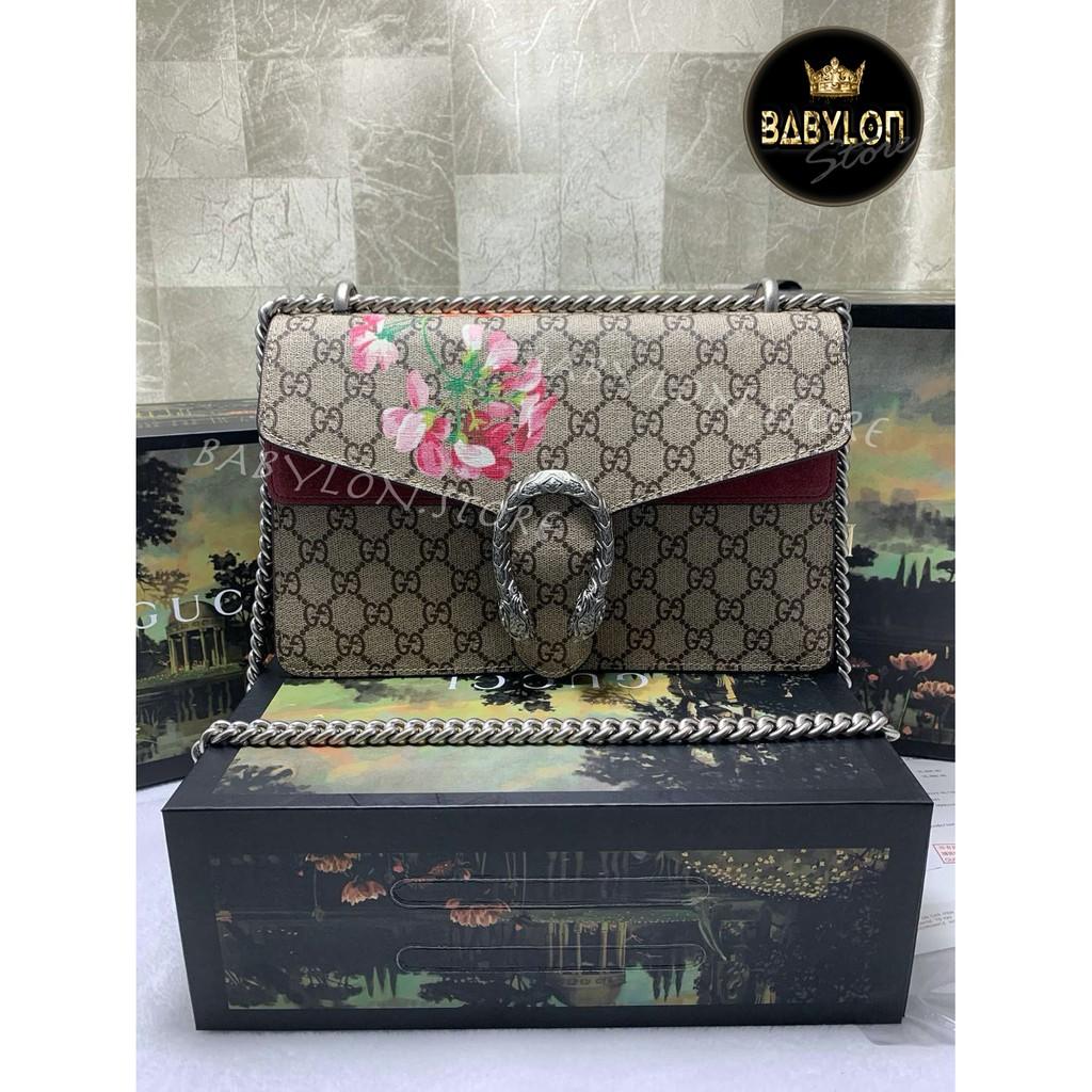 กระเป๋า Gucci Dionysus limited 28 cm. ตัวท็อปรุ่นยอดนิยม เนี๊ยบทุกจุด เป๊ะมาก งาน Original สวยจนร้องไห้ พร้อมจุด