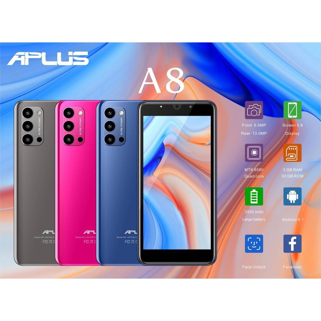 APLUS A8 (Ram3 Rom 32 GB) จอ 5.8 ประกันศูนย์1 ปี กล้อง5.0/13.0MP เอพลัส โทรศัพท์ มือถือ สมาร์ทโฟน