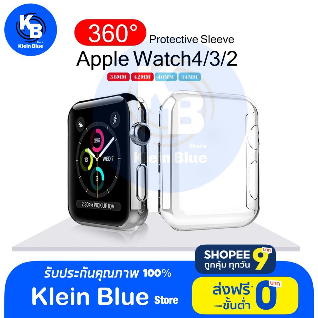 เคส applewatch เคสใส Apple Watch ใช้ได้กับ Series 4 3 2 1 ขนาดจอ. 42 มม. 42 มม.