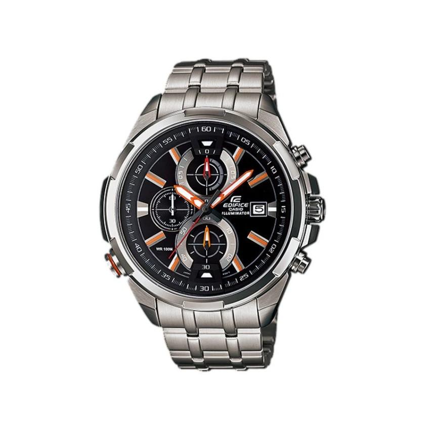 Casio Edifice นาฬิกาข้อมือผู้ชาย สายสแตนเลส รุ่น EFR-536D-1A4 - Silver