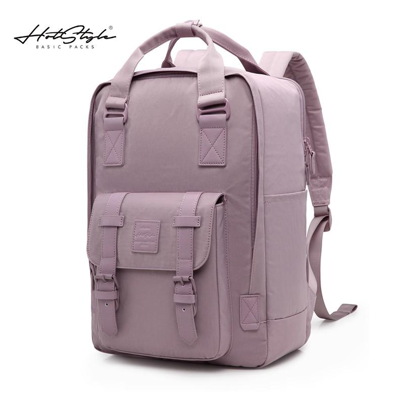 ระเบิด HOTSTYLE กระเป๋านักเรียนใบเล็กความจุขนาดใหญ่กระเป๋าเป้เดินทางชาย กระเป๋าใส่คอมพิวเตอร์ 15.6 นิ้วกระเป๋าเป้สะพายห