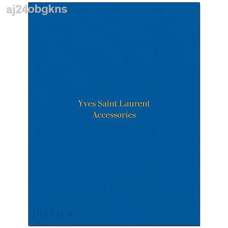 ﹍▩┇[ลดราคา] Yves Saint Laurent Accessories, accessories YSL jewelry design original English art books