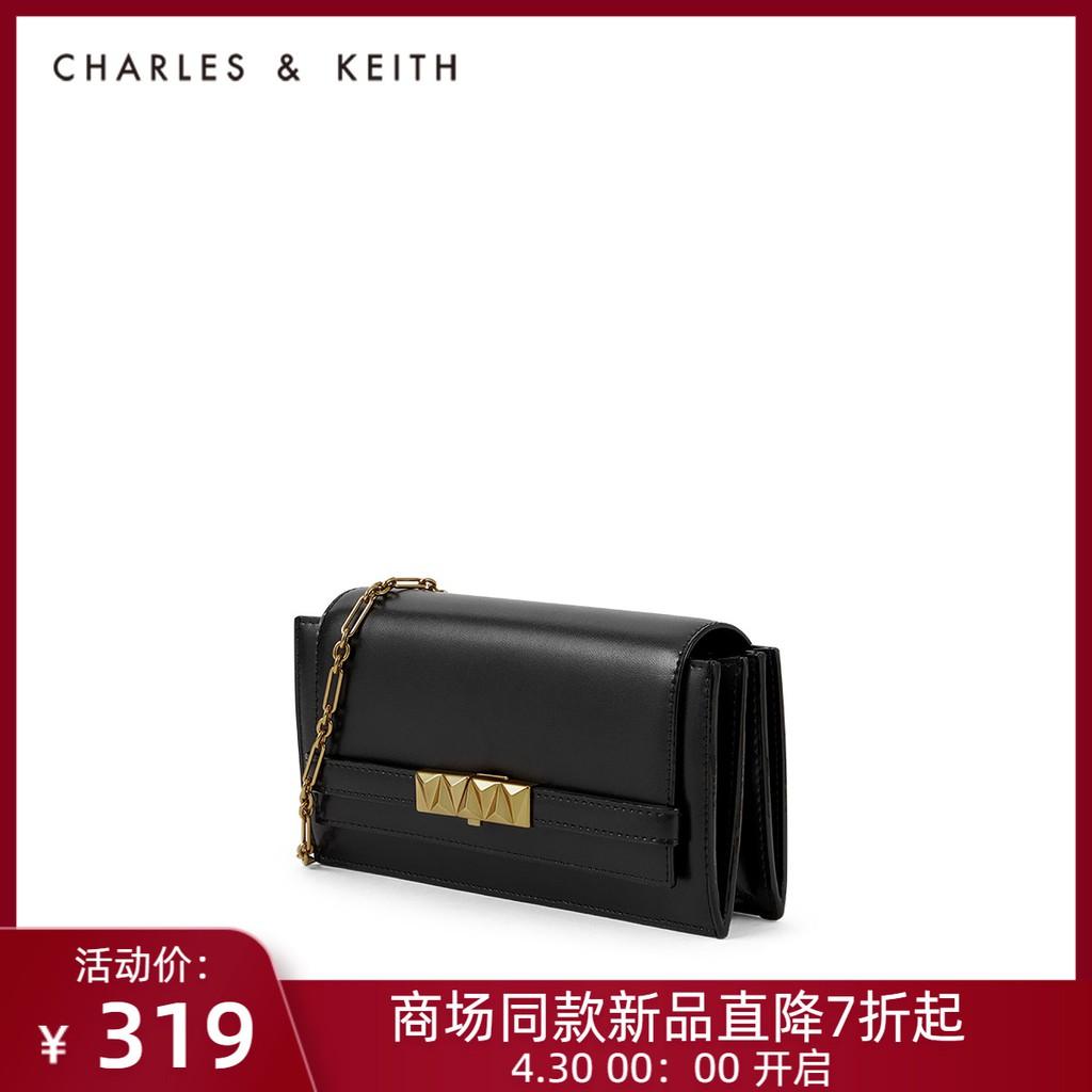 ≡ヶกระเป๋ากระเป๋าเดินทาง   กระเป๋าเป้สะพายหลัง★★★❤🔥🔥[ของขวัญ520] Charles & KEITH กระเป๋าใบเล็กสะพายข้างแบบ CK6-10770480
