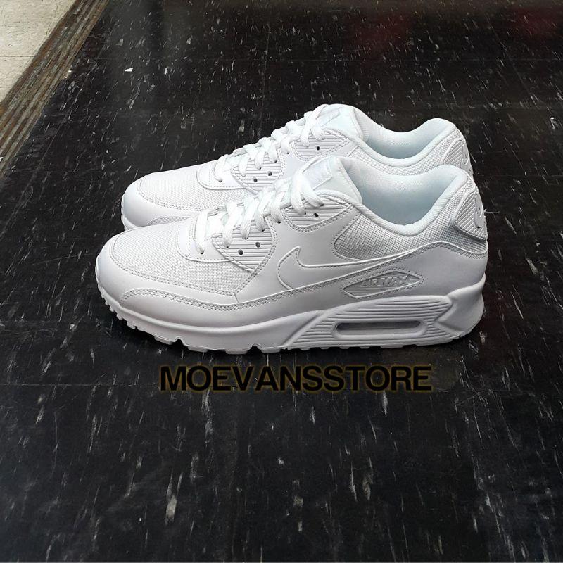 Nike AIRMAX 90 ESSENTIAL รองเท้าผ้าใบลําลองสีขาว
