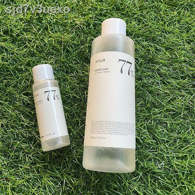 เตรียมจัดส่ง🏆❄ฮันพี่ชาย ANUA - Heartleaf 77% Soothing Toner 250 ml. และ 40 มล.