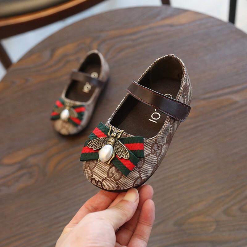 รองเท้าคัชชูเด็กผู้หญิง รองเท้าเด็กน่ารัก รองเท้ารัดส้นเด็ก VDO ถ่ายจากสินค้าจริงนะคะ