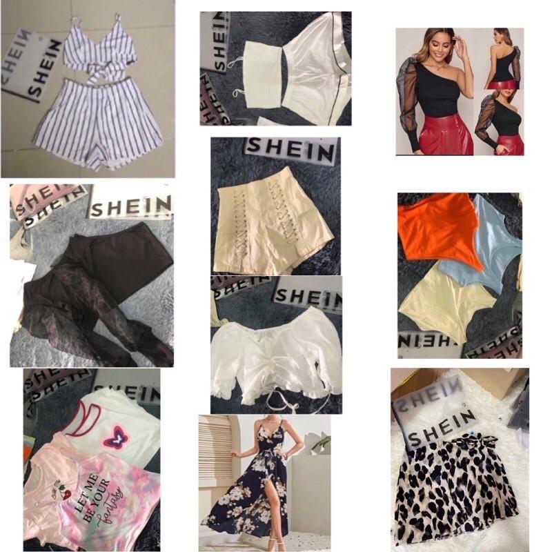 Sale !! เสื้อผ้าเหมายกกระสอบ มือ1 งานป้าย shein