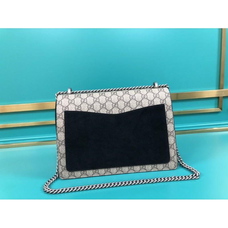 ระยะเวลาจำกัดOriginal Quality Gucci Dionysus Medium Black Chain Bag