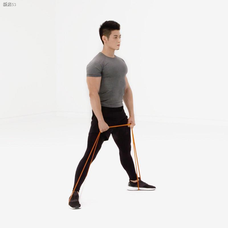 แถบยางยืดแบบสปอร์ตஐ✙ให้แรงต้าน แถบยางยืด ออกกำลังกาย ยืด ฝึก ไหล่ ฟิตเนส เทรนนิ่ง โฮม โยคะ เข็มขัดดึงขึ้น