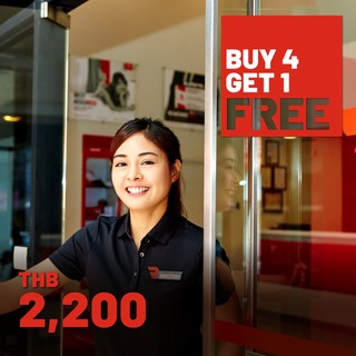 BUY 4 GET 1 FREE - RED PLANET HOTELS