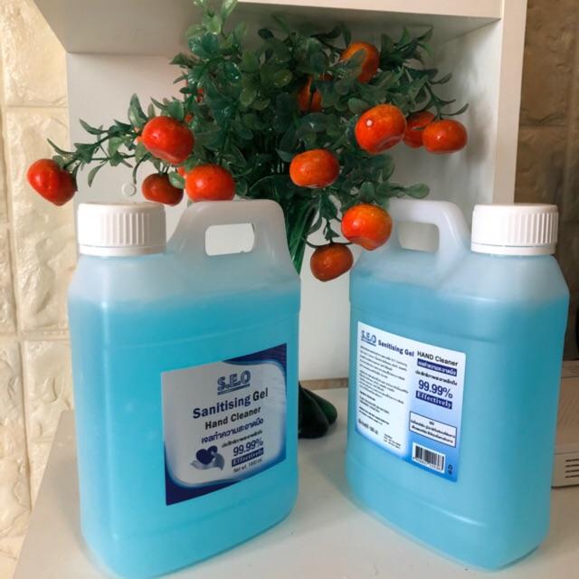 เจลล้างมือ  hand gel  1000 ml