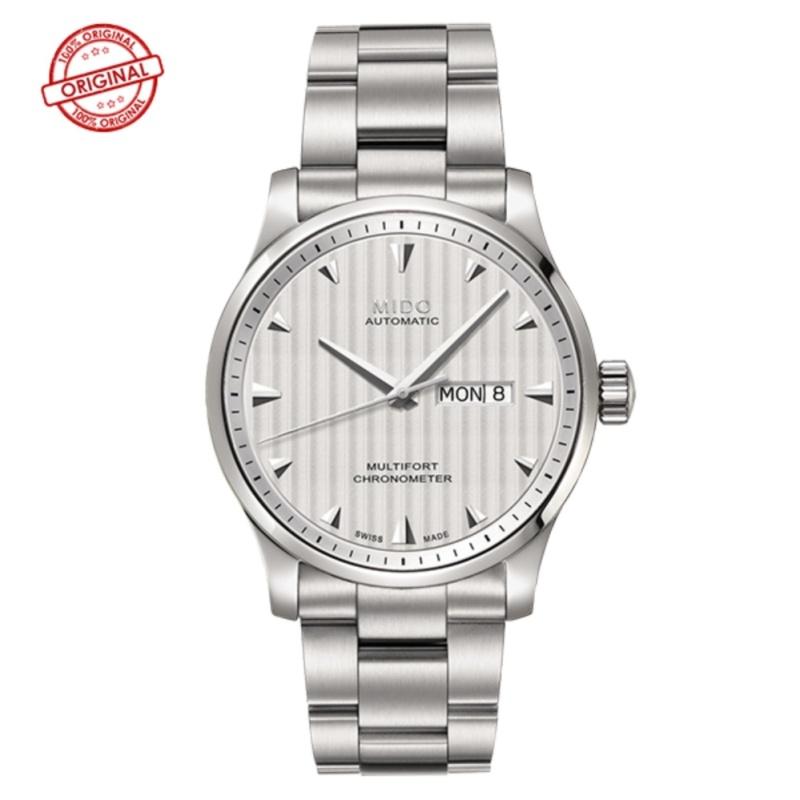 นาฬิกาข้อมือ ผู้ชาย MIDO Multifort Automatic Chronometer M005.431.11.031.00