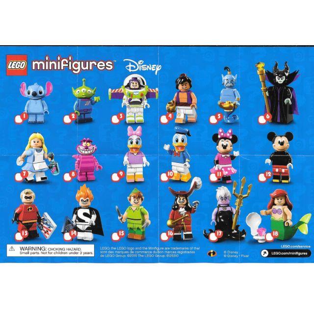 New LEGO Minifigures Disney Series 71012 Minnie Mouse