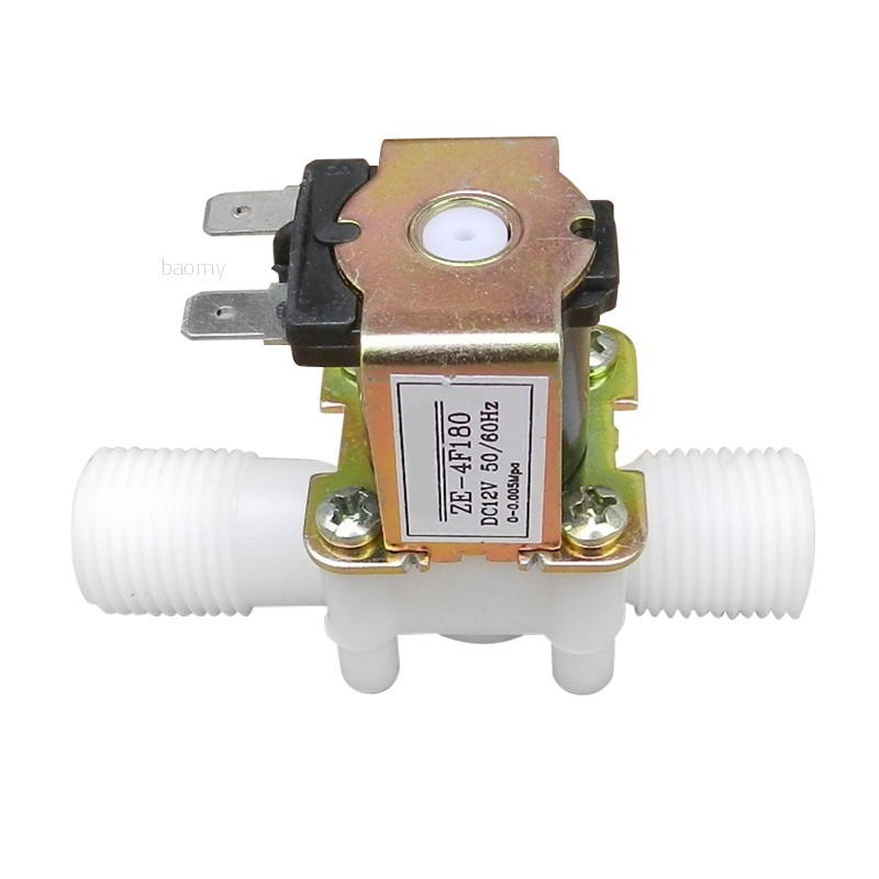 """1//2/"""" N//C Electric Solenoid Valve 12V  Magnetic Water Air Normally Closed IC"""