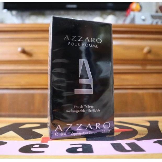 น้ำหอมแท้ Azzaro Pour Homme Rechargeable - Refillable EDT 100ml.