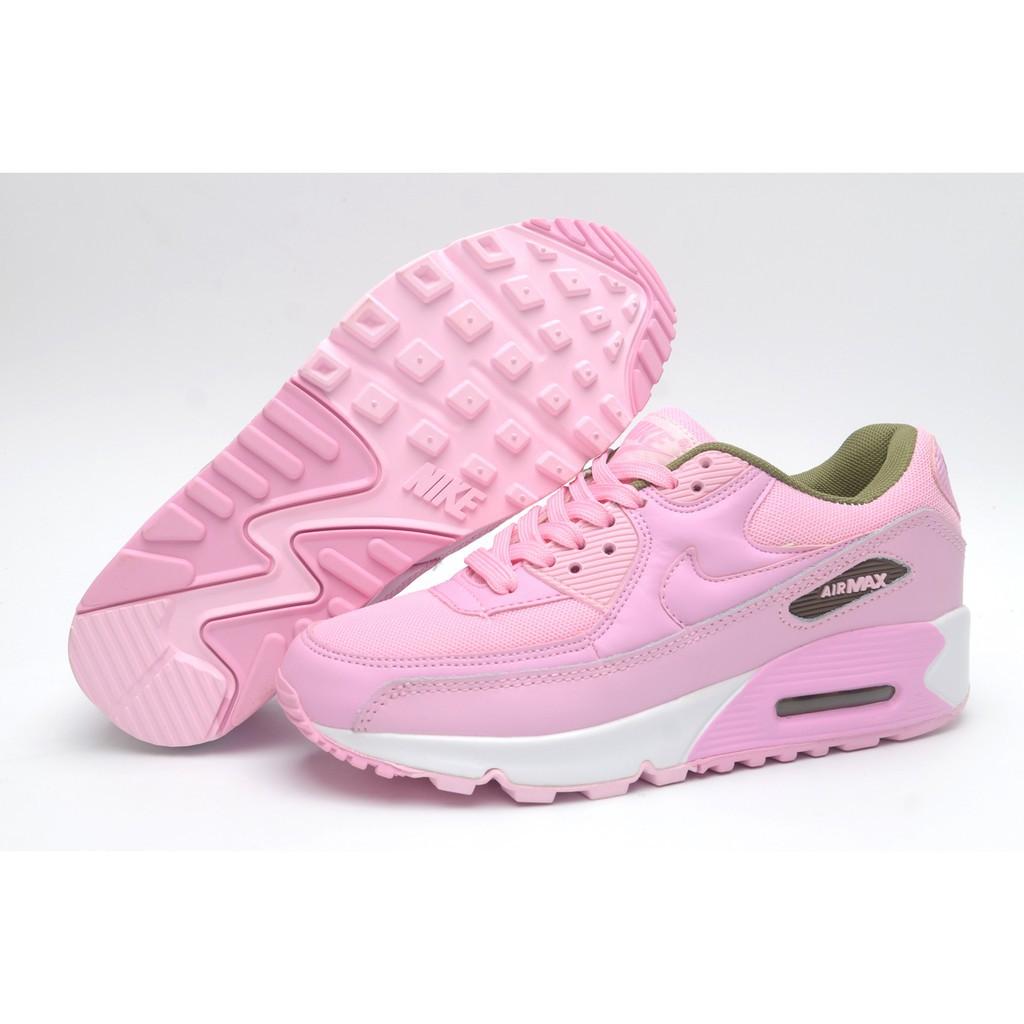 รองเท้าวิ่งผู้หญิง Nike Air Max 90 สีชมพู