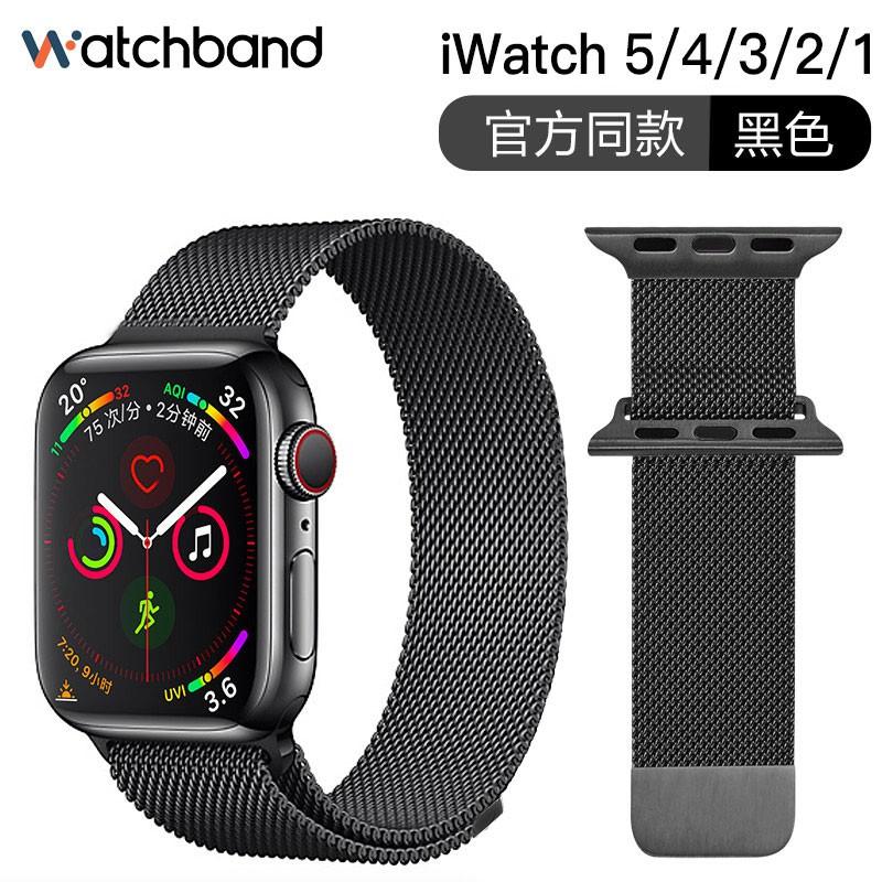 น้ำเกาหลี·Apple watch strapแอปเปิ้ลiwatchสายนาฬิกาapplewatch5/4/3/2รุ่นseries 38/42mm40/44สายคล้องคออุปกรณ์เสริมมิลานนีซ