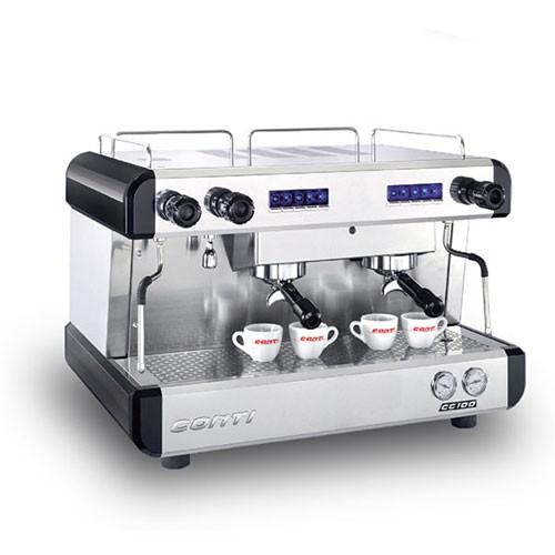 เครื่องทำกาแฟ สตรีมนมได้ CONTI รุ่น CC100 2G 2หัว