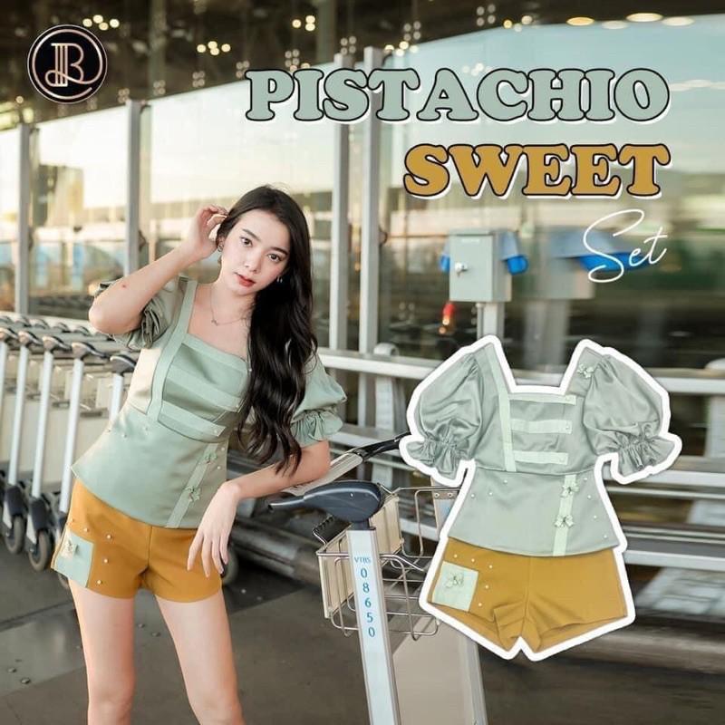 ตำหนิ❌Blt เซ็ต ไซส์s pistachio sweet